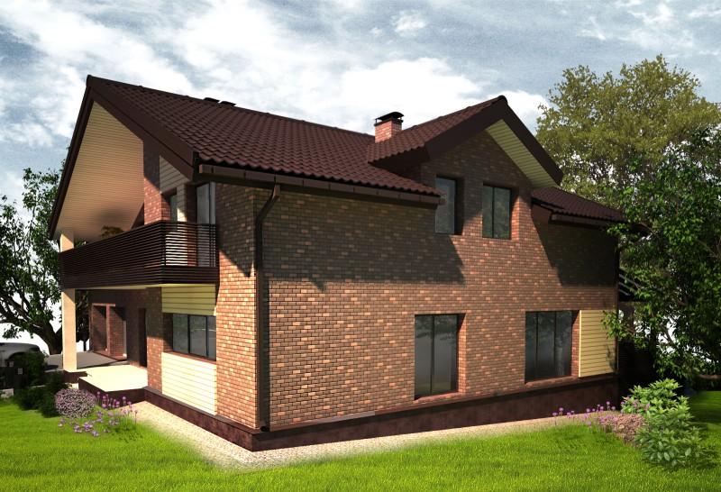 Частный дом для молодой семьи