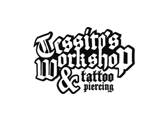 Эмблема студии пирсинга и татуировки