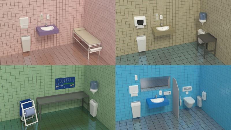 3d дизайн сан.технического оборудования