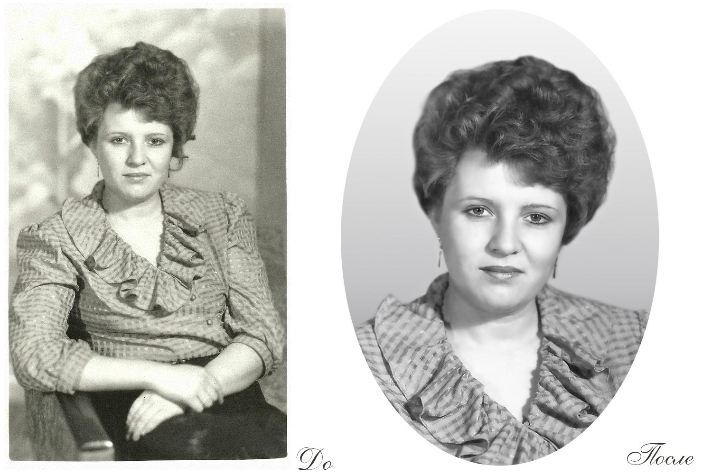 Реставрация старых фотографий в москве