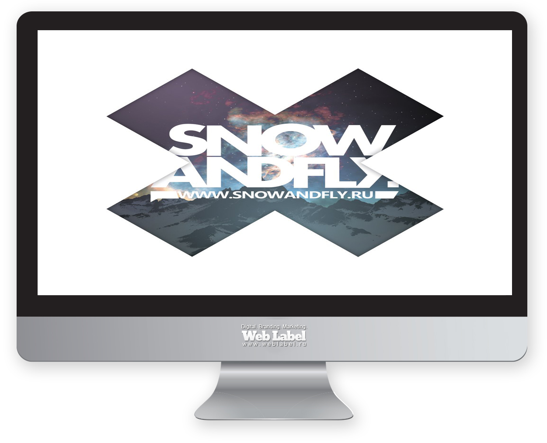 Нейминг для сноуборд проекта SNOWANDFLY