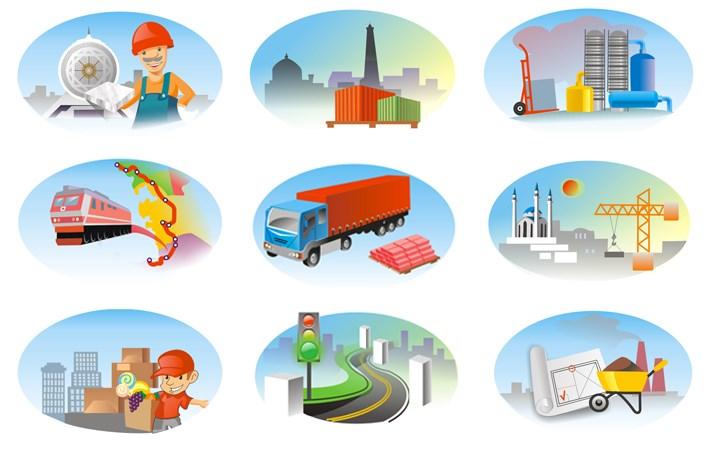 отношения отрасли промышленности знаки картинки серебришко