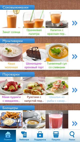 Мобильное приложение Готовим Счастье От Philips
