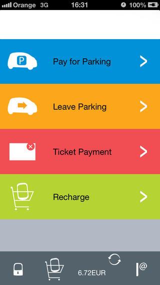 Мобильное приложениеg ParkME От INTEGR PARKING SOLUTIONS LLC