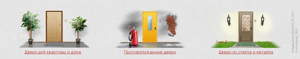 Иконки для производителя дверей