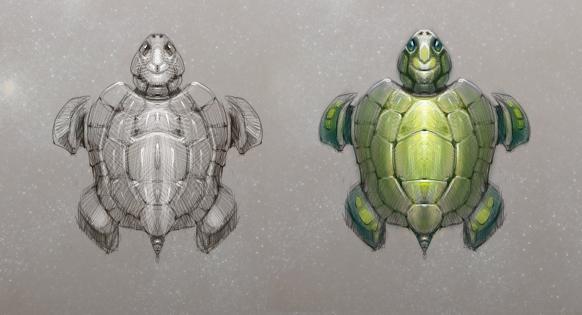 """черепаха для проекта """"mantis"""""""