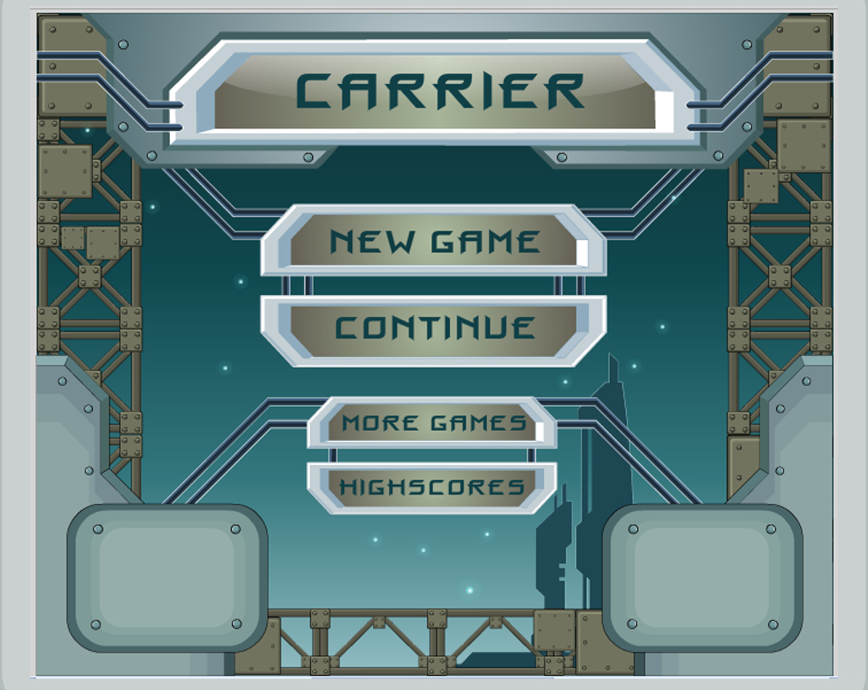 "главное меню для проекта ""carrier"""