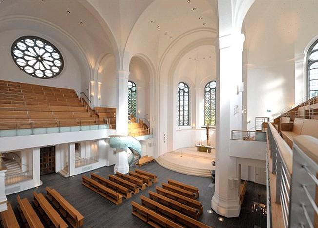 Реконструкция протестанской церкви в Германии