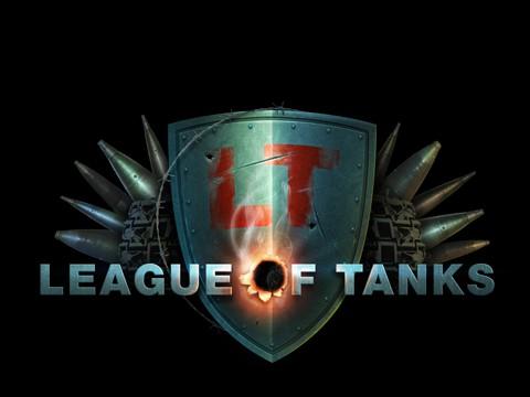 Редизайн логотипа для сайта игры Лига танков