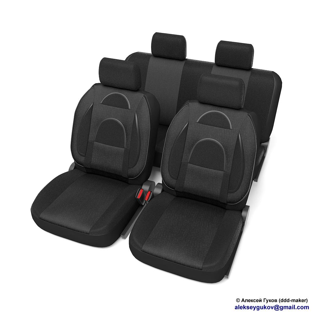 Моделирование автомобильных сидений