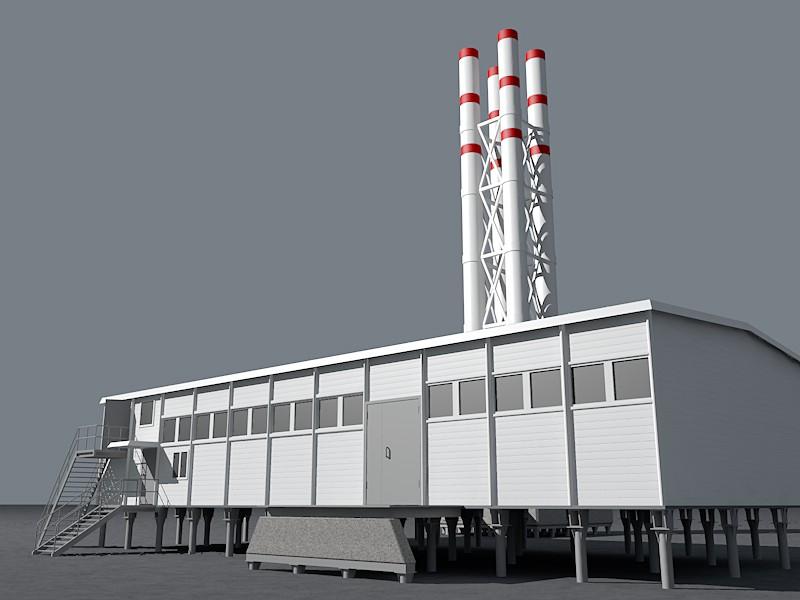 Моделирование промышленного оборудования, приборов, объектов.