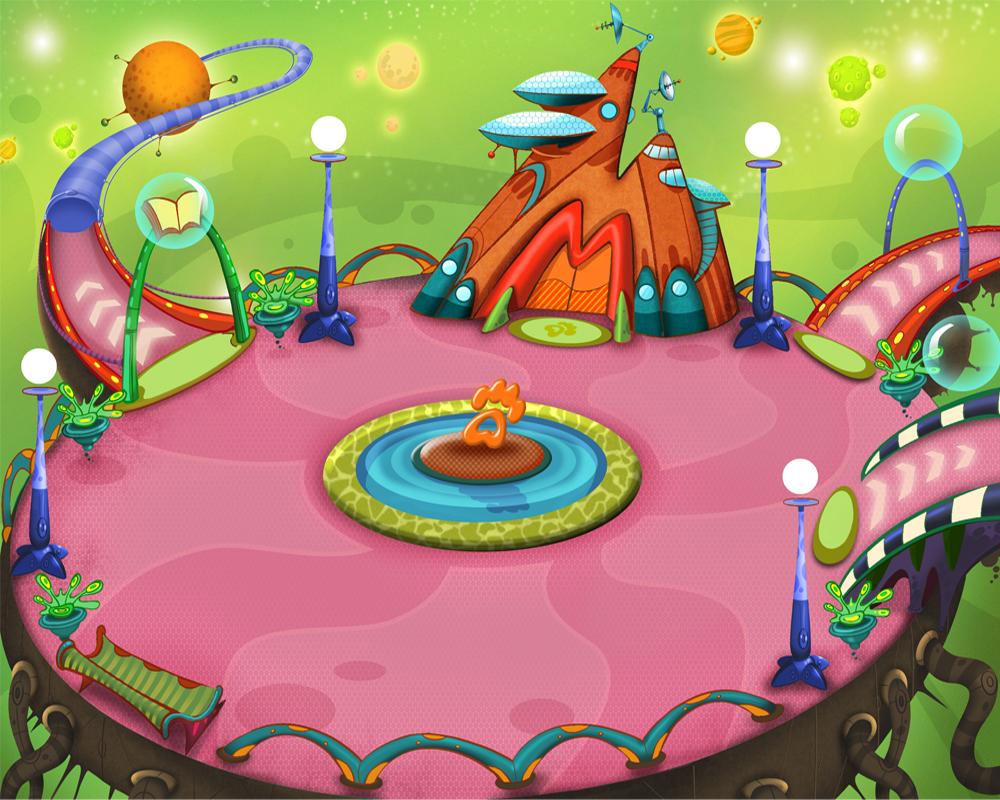 Локация для он-лайн игры