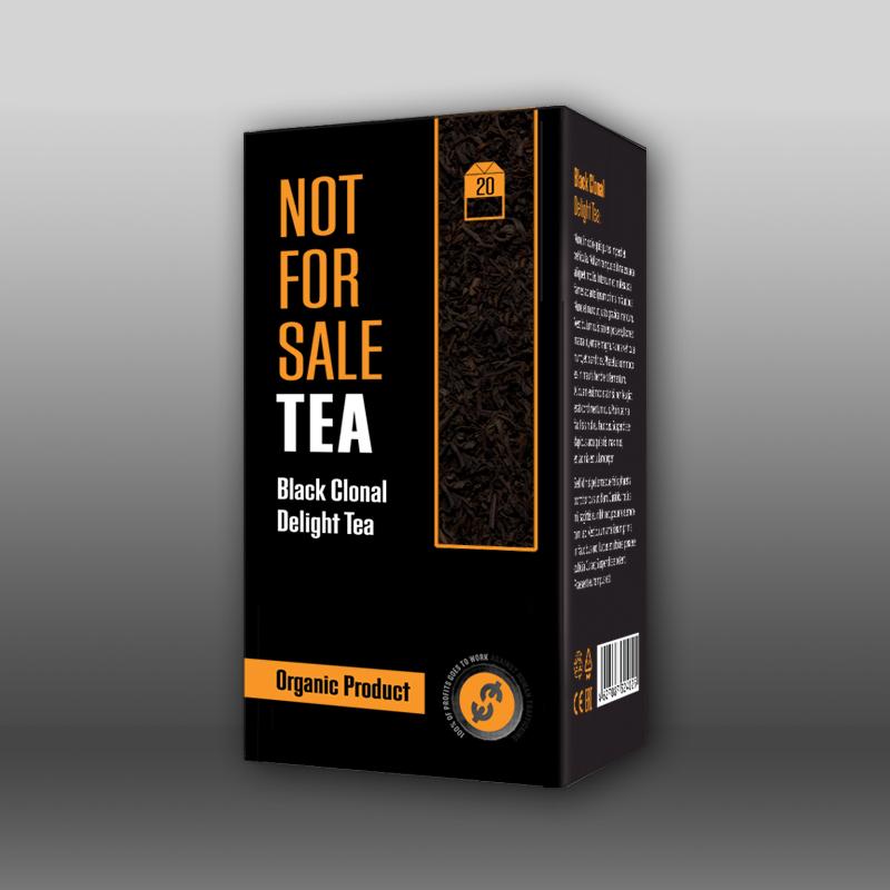 Упаковка для пакетированного чая: