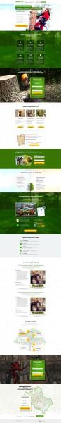 Landing Page Arborist