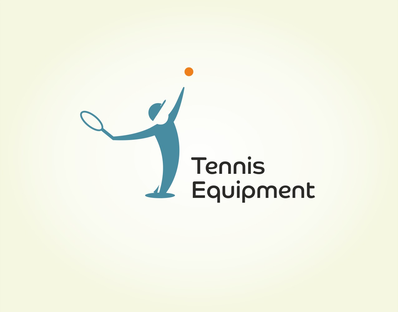 Лого для магазина оборудования для тенниса