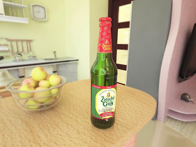 Моделирование бутылки