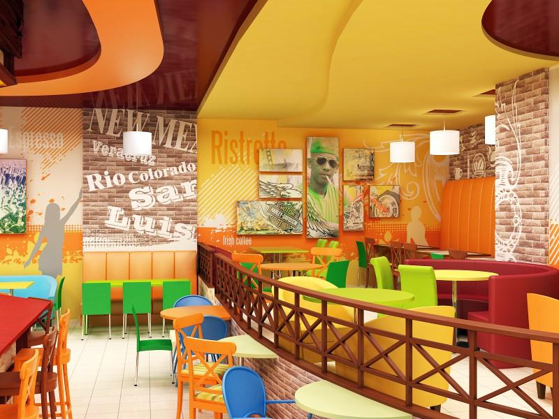 Дизайн молодежного кафе_2
