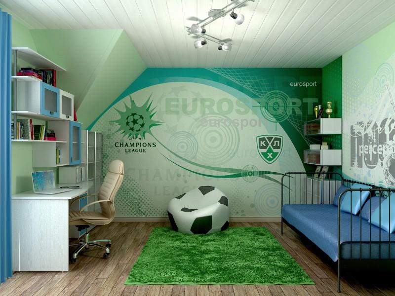 Частный дом (комната сына)