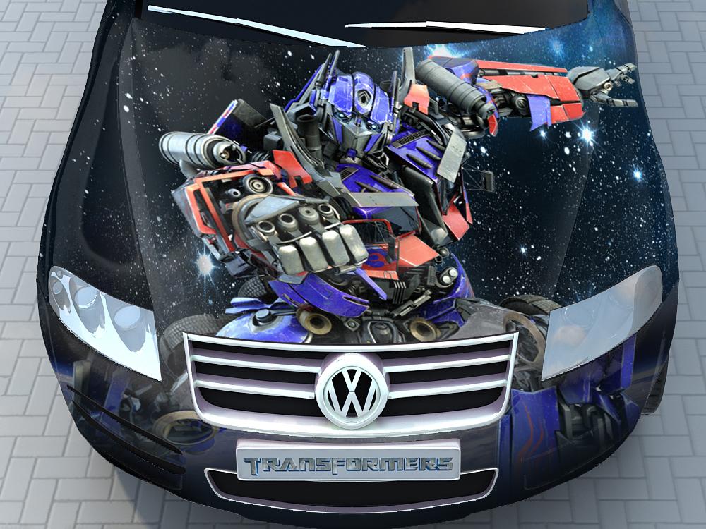 Разработка изображения на автомобиль