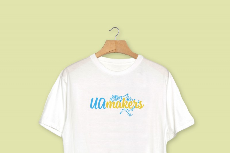 Uamakers разработка логотипа