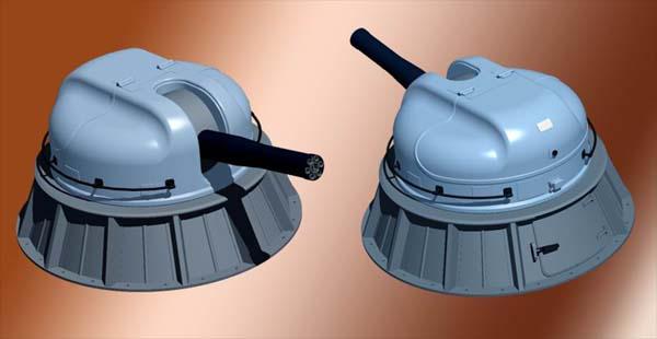 Модель артустановки АК-630