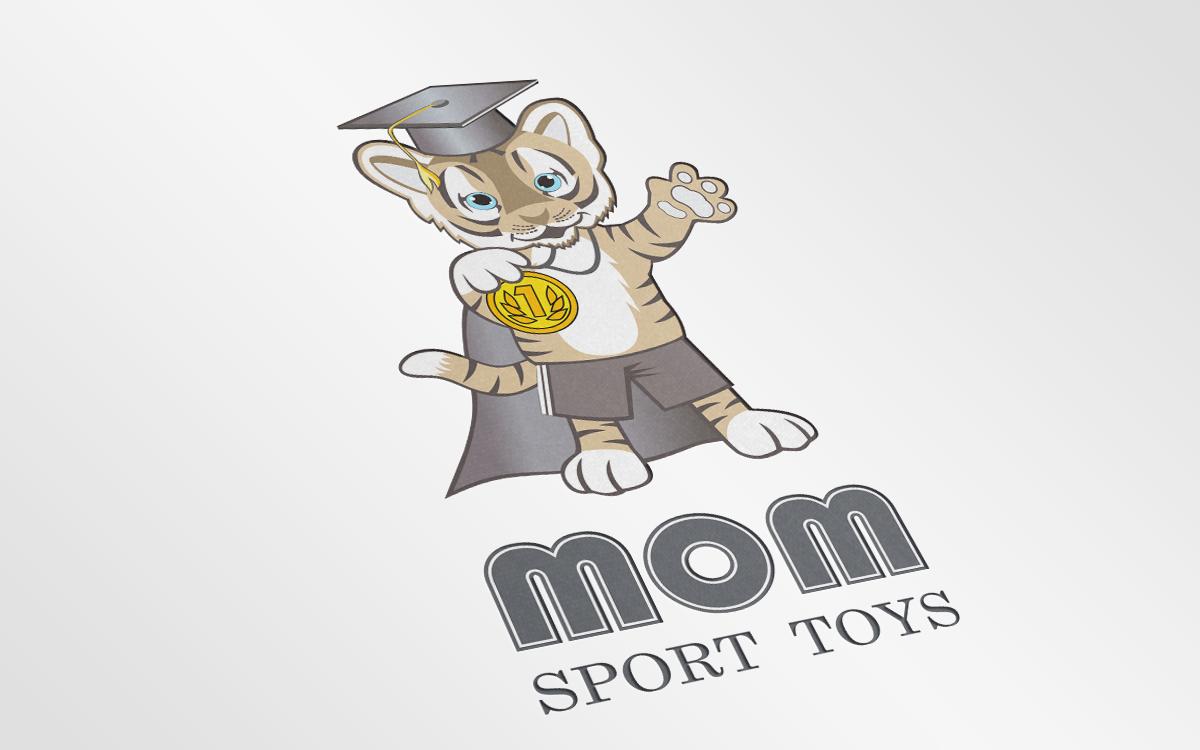 Логотип детских спортивных комплесов