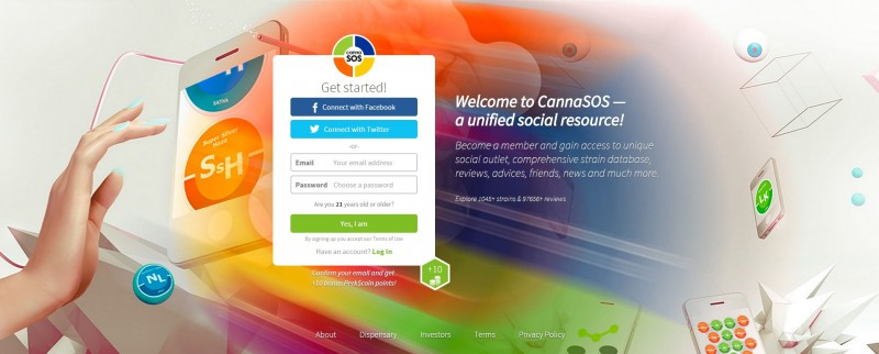 CannaSOS —  a unified social resource!