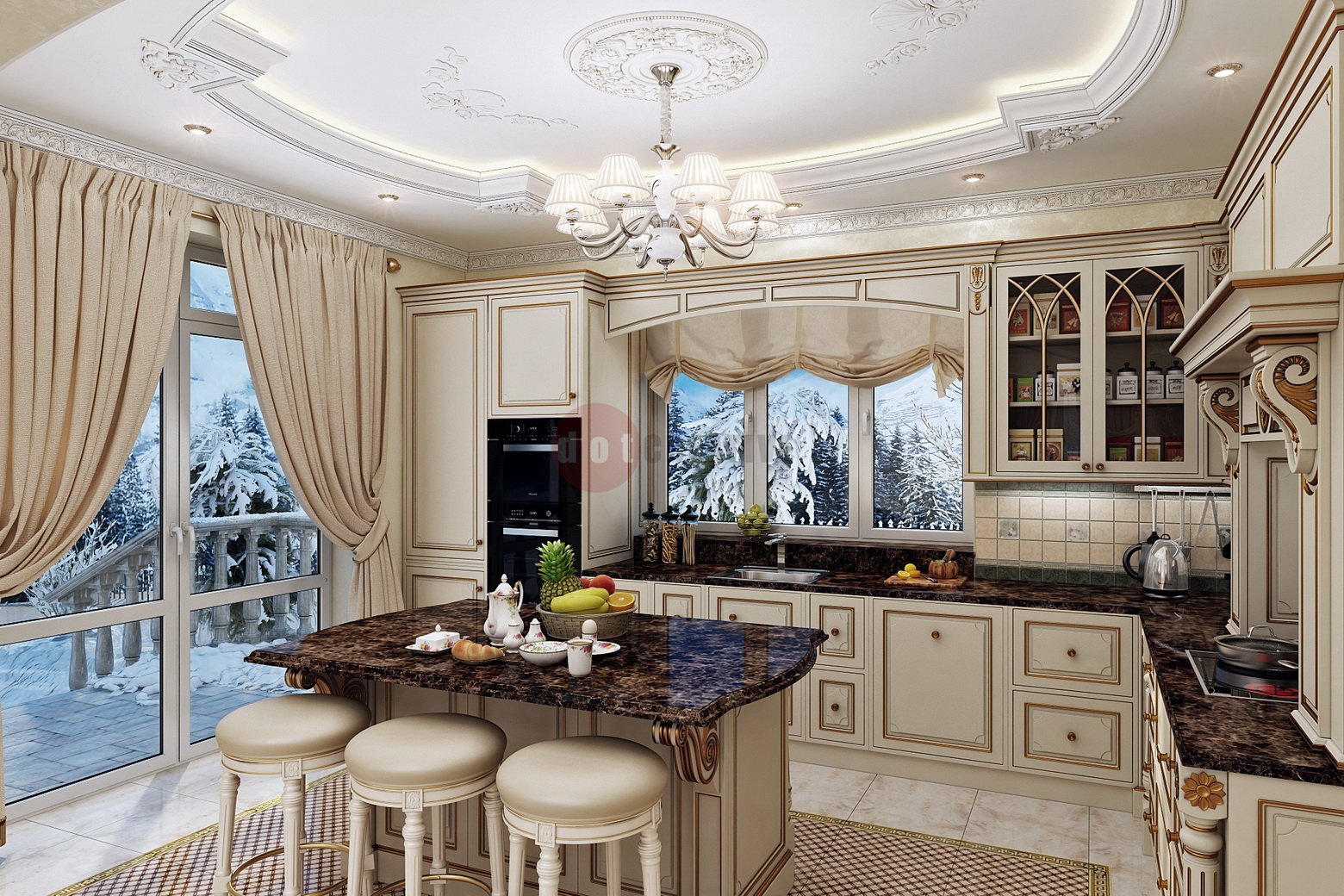 кухня соф
