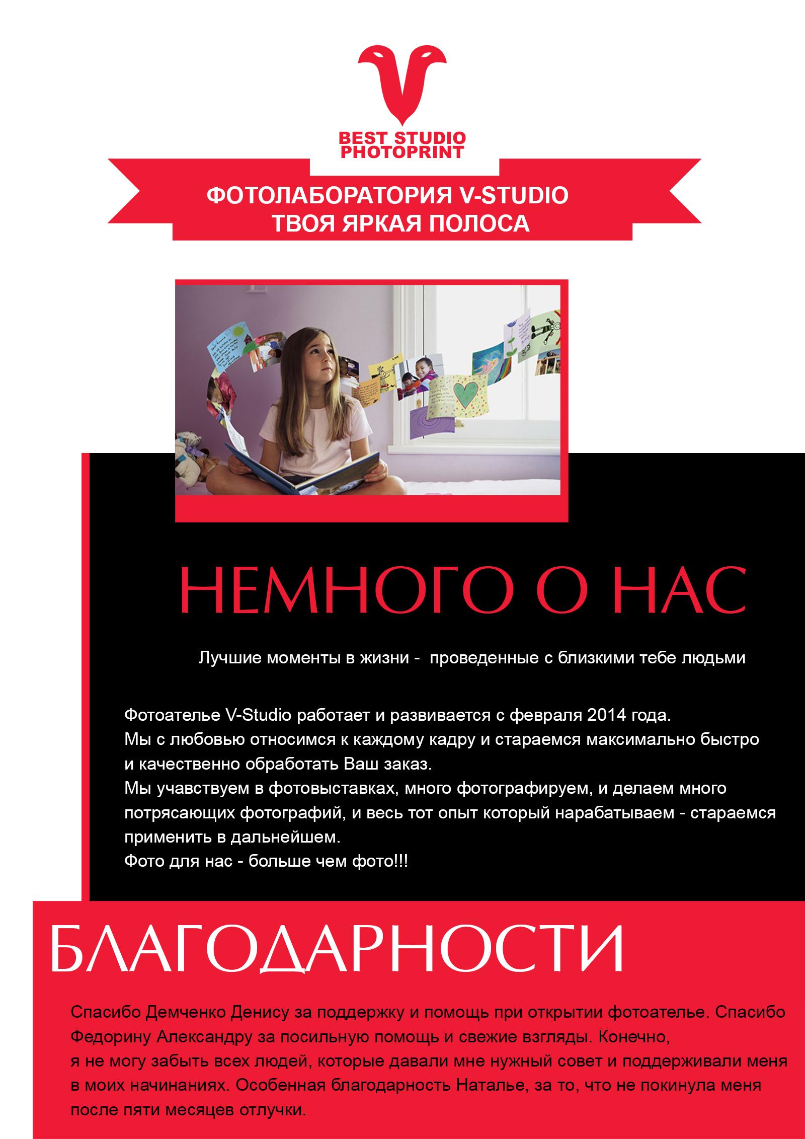 Дизайнер в фотосалон вакансии страницы
