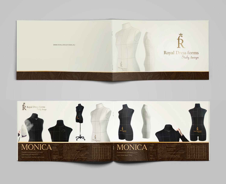"Дизайн и верстка каталога ""Royal Dress forms"""