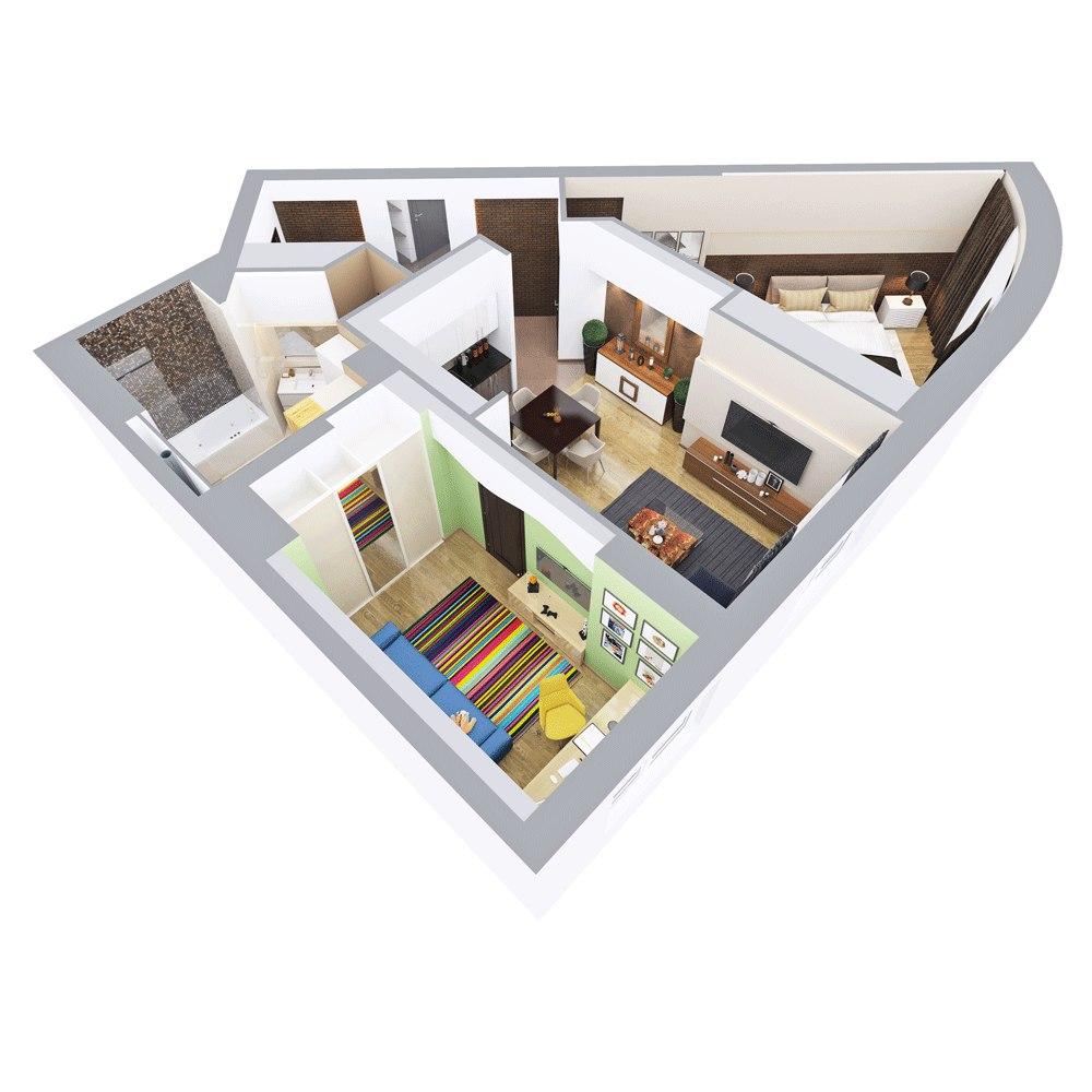дизайн проект квартиры фрилансер