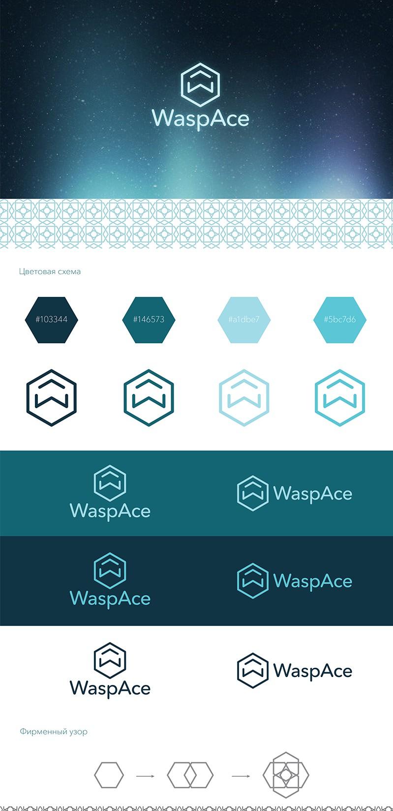 Логотип WaspAce