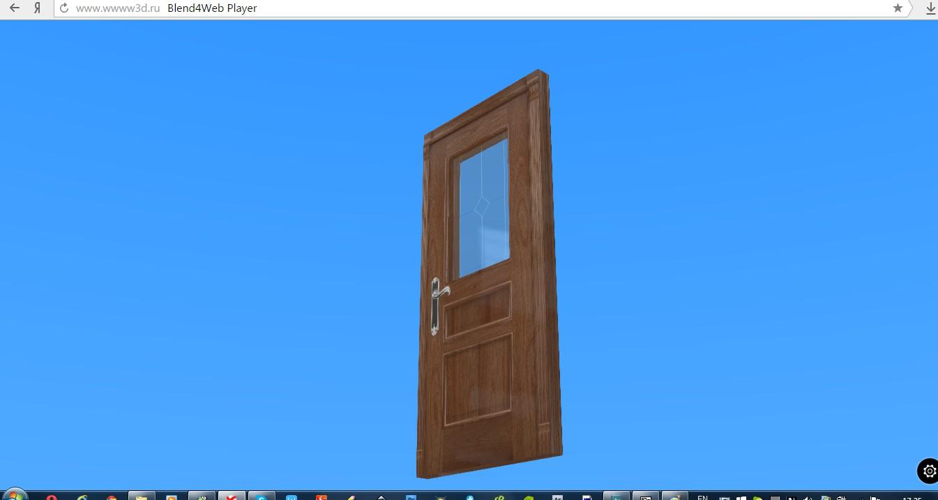 Интерактивная визуализация двери