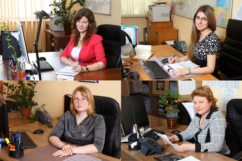 Фотосъемка сотрудников (4 фото)