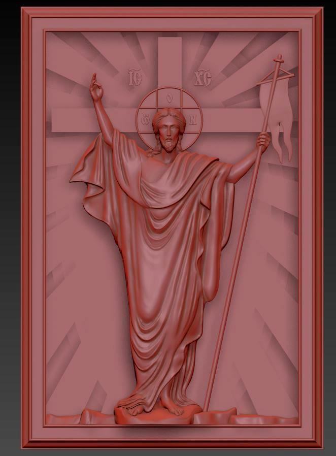 Иисус панно
