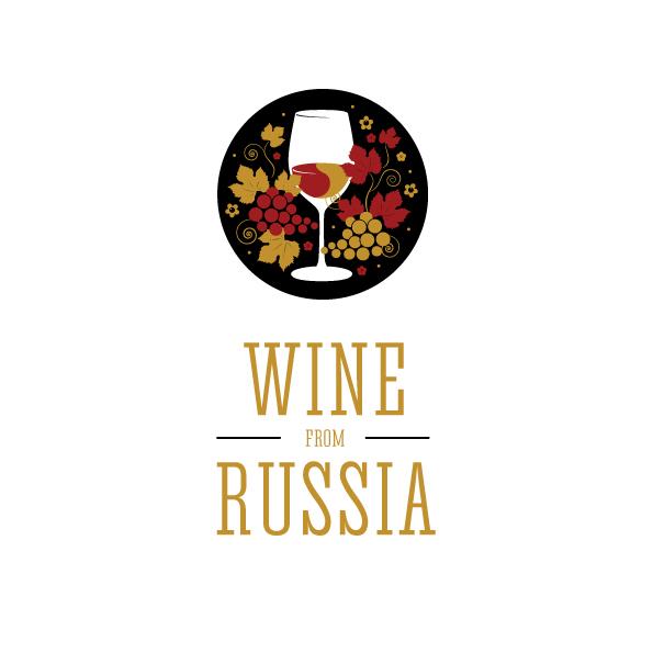 """Логотип для проекта """"Вино из России"""""""