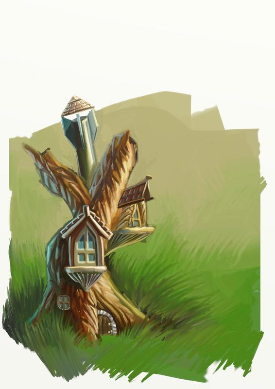 Домик в дереве, постапокалипсис