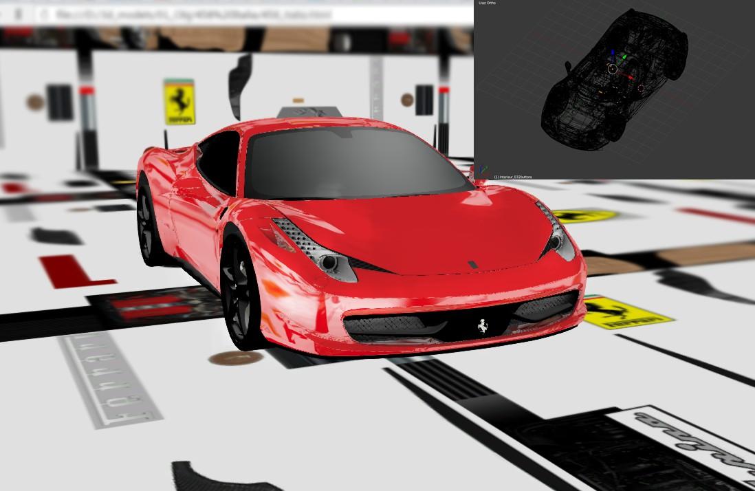 Феррари 458