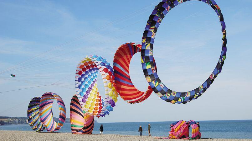 Фестиваль воздушных змеев в Фуэртевентуре