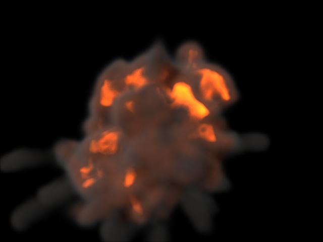 взрыв на основе частиц