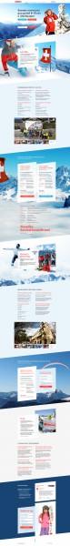 Разработка дизайна лэндинга для туристического агентства