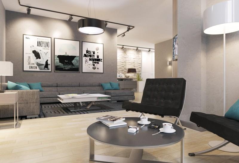 Визуализация квартиры холостяка