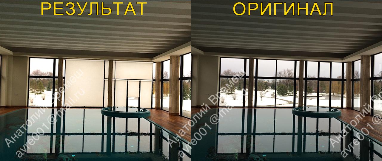 Моделирование и визуализация рулонных штор