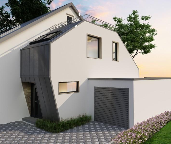 Пристройка к существующему дому