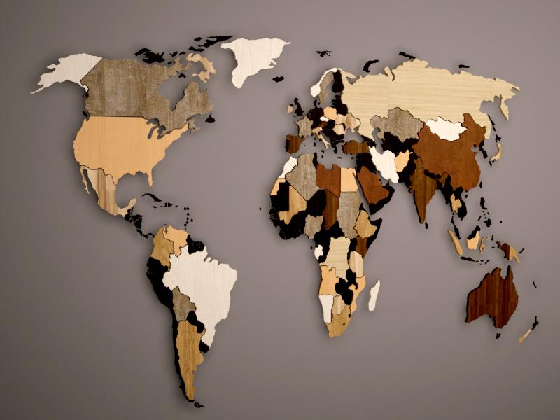 Карта мира 3D