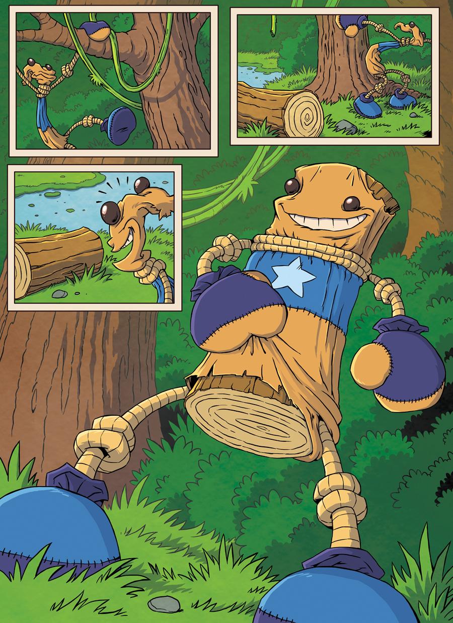 комикс Kick the Buddy