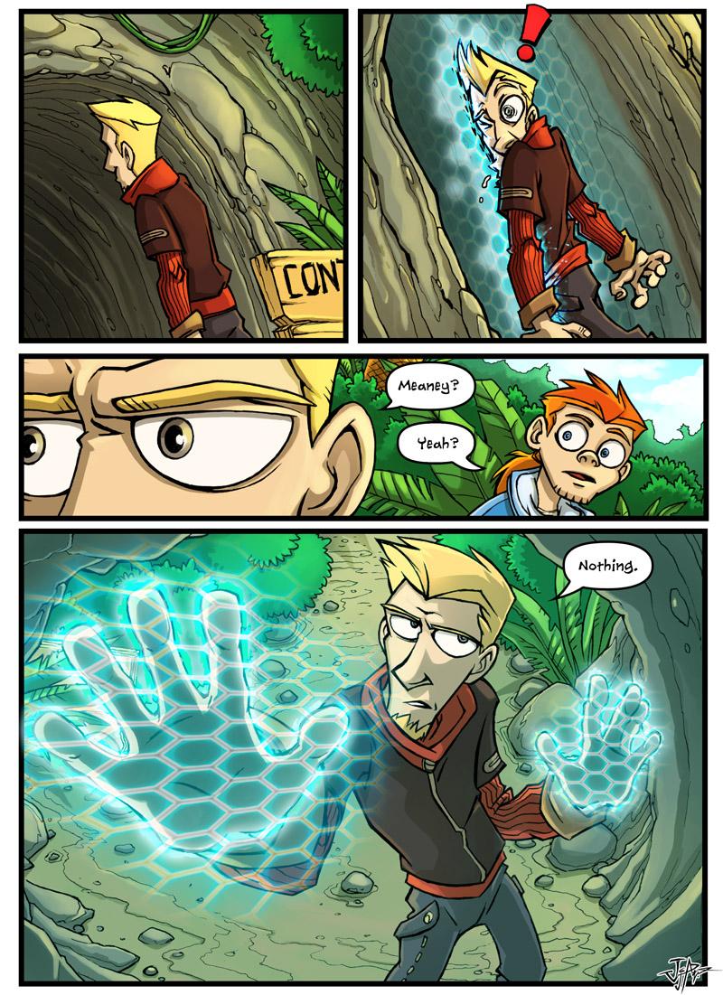 веб-комикс Jump Leads