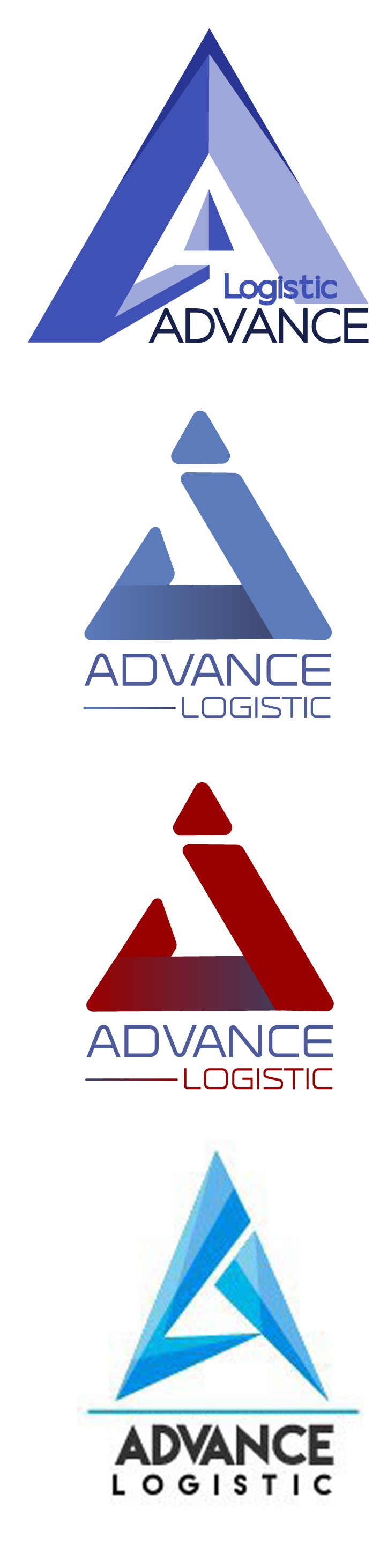 Лого advance logistic варианты