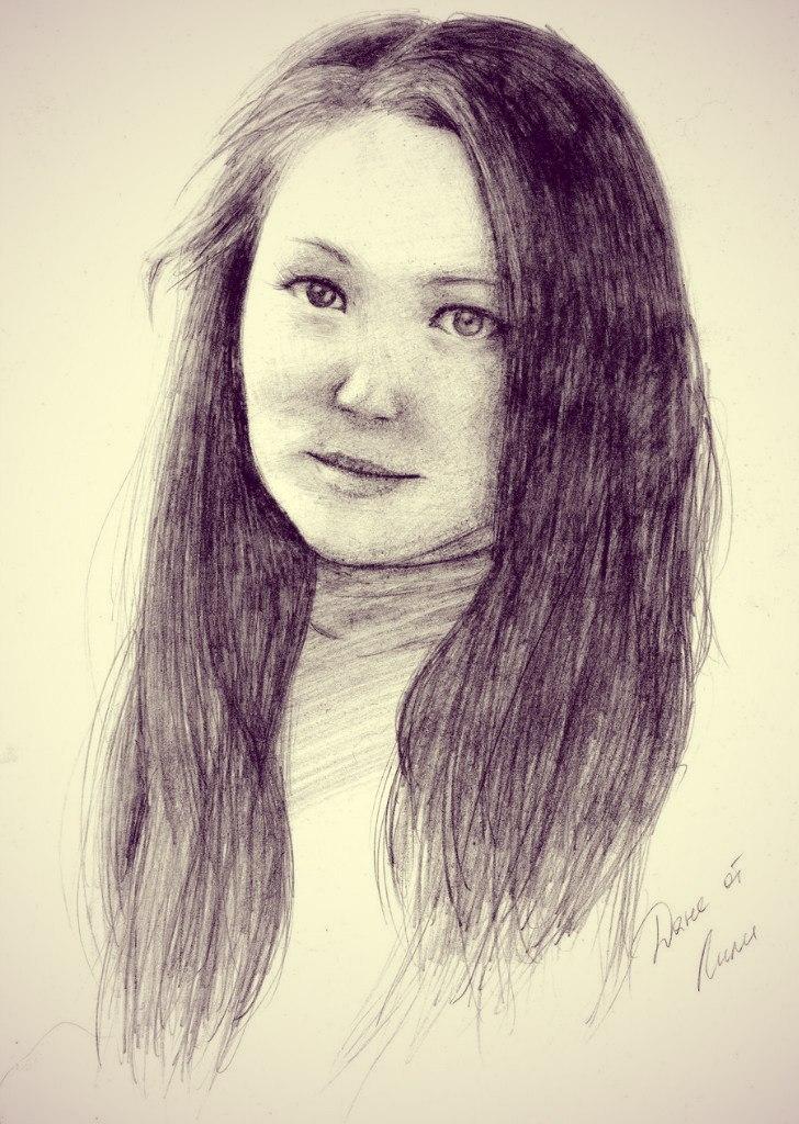 портрет Даниеллы