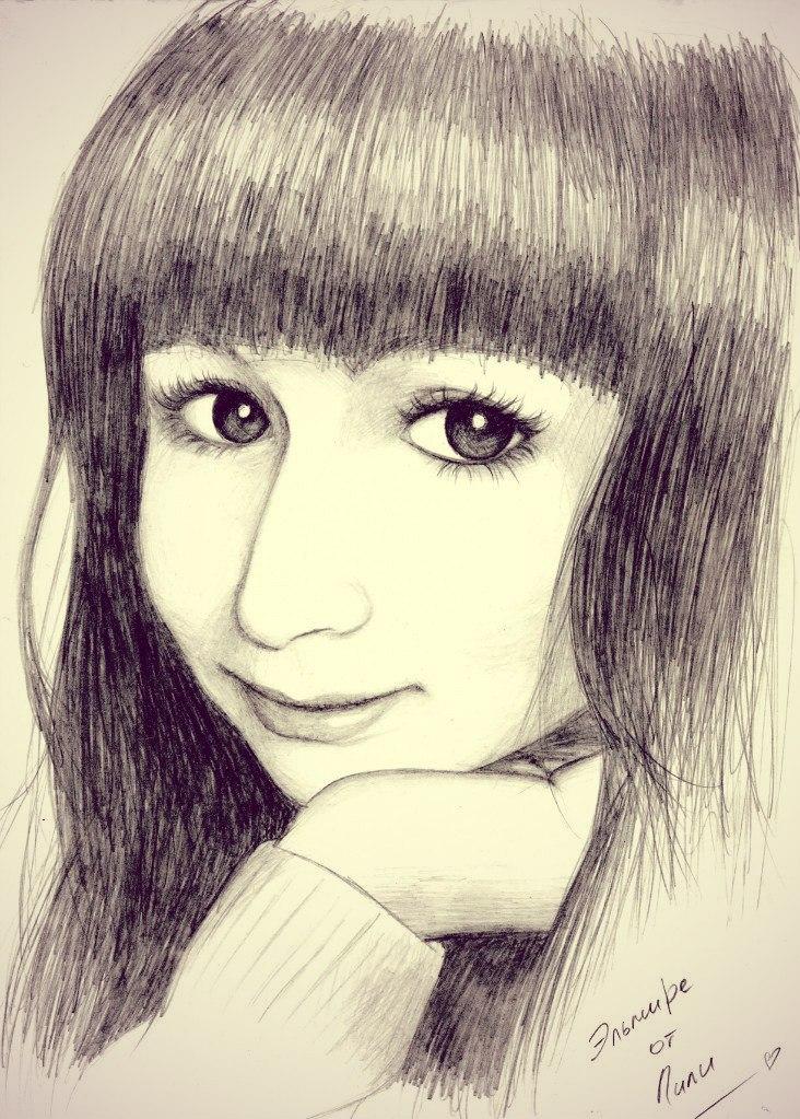 портрет Эльмиры